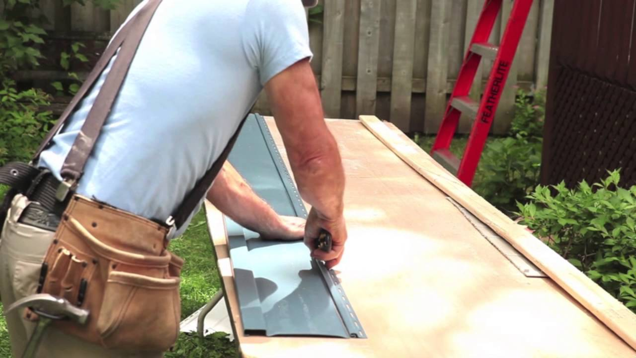 How To Install Kaycan Vertical Siding Youtube