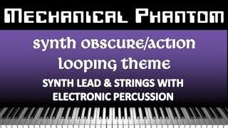 Lukan Peixe - Mechanical Phantom Mini V1 [ Synth / Hybrid Metal ] ( Music for Vlog / Gameplay)