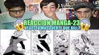 Video REACCION/MANGA-23:Dragon ball Super!#EPICO! download MP3, 3GP, MP4, WEBM, AVI, FLV Oktober 2018