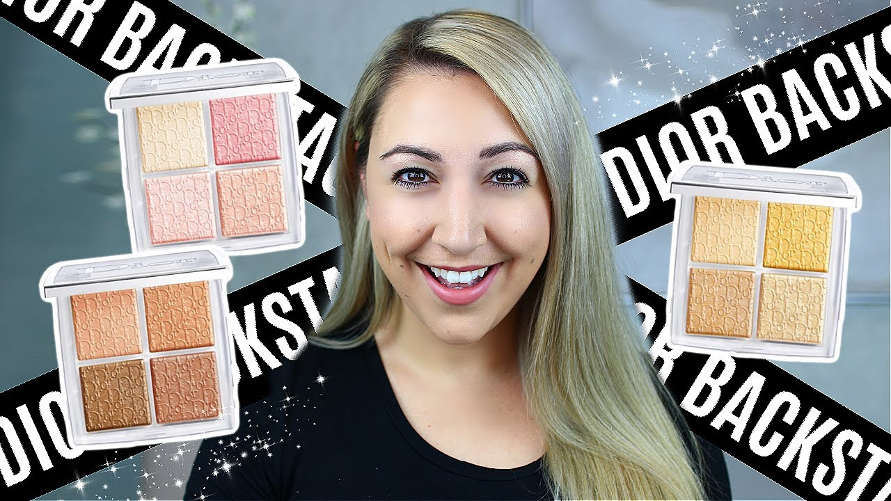 NEW DIOR BACKSTAGE FACE GLOW PALETTES *Holiday 2020* Review, Swatches & Comparisons
