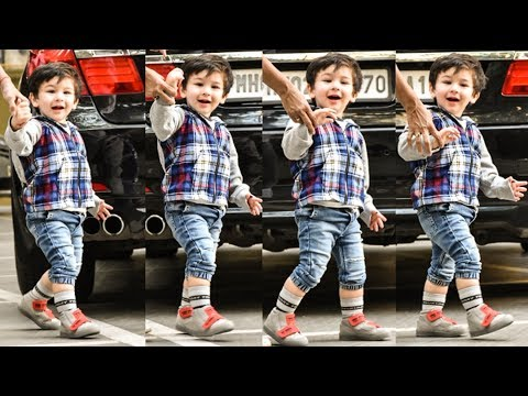 Taimur Ali Khan's Adorable Smile Melted Your Hearts