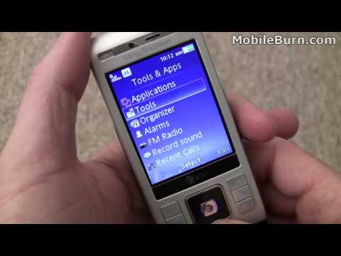 Sony Ericsson C905a for AT&T - part 1 of 2