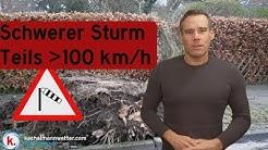 Orkantief SABINE bringt Deutschland eine schwere Sturmlage