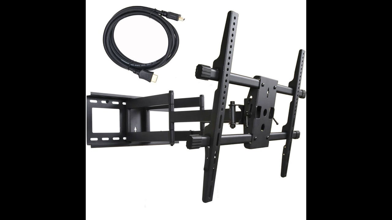 Best Full Motion Tv Wall Mount For 32 Inch 60 Inch Youtube