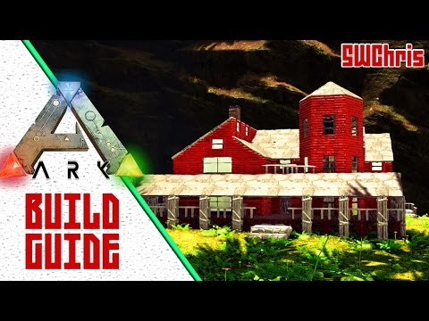 ARK Victorian Home Build Guide :: ARK Redwood House :: ARK S+ Tutorial