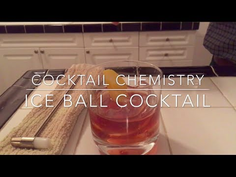 Impress Your Party Guests With Cocktails Served Inside Orbs of Ice