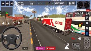 IDBS Truck Trailer - Trailer Truck Transport - Android Gameplay screenshot 2