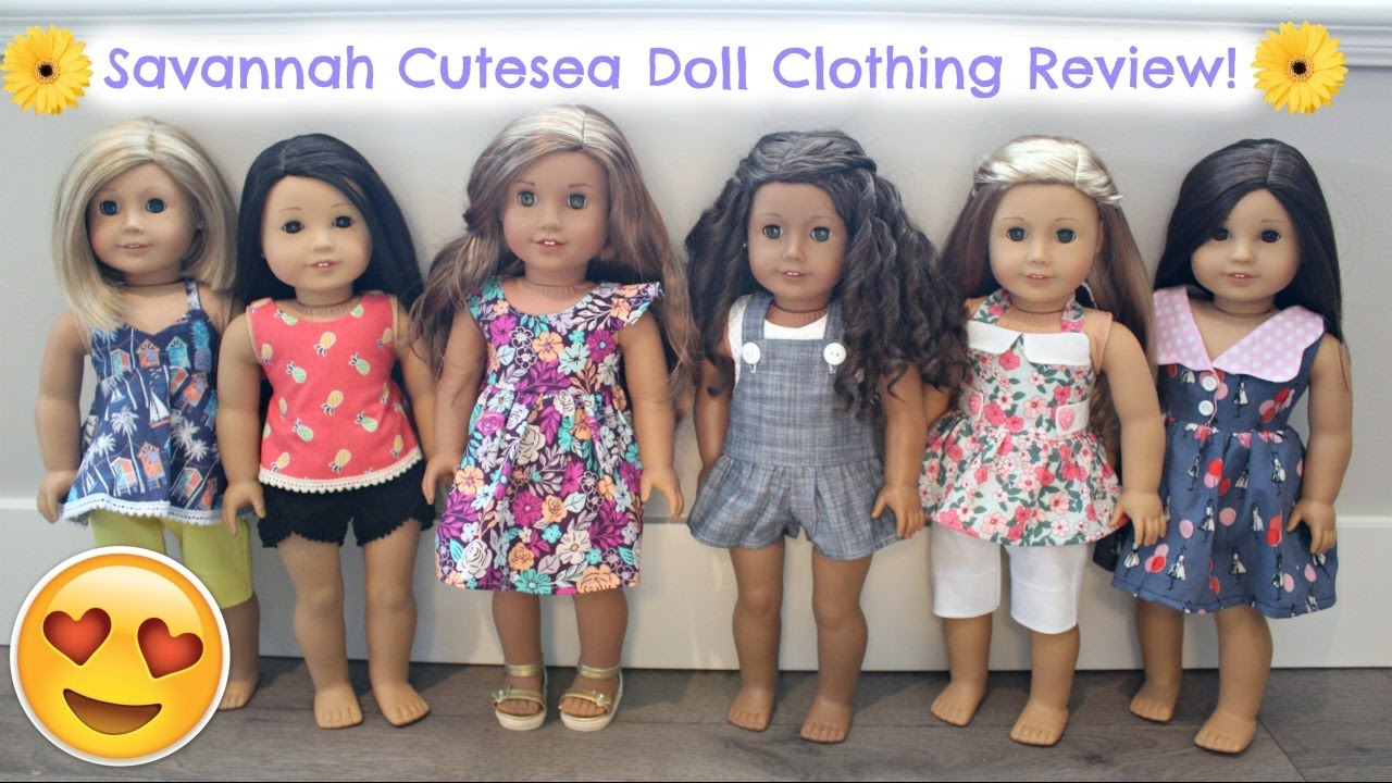 american girl doll savannah cutesea online shop review opening youtube. Black Bedroom Furniture Sets. Home Design Ideas