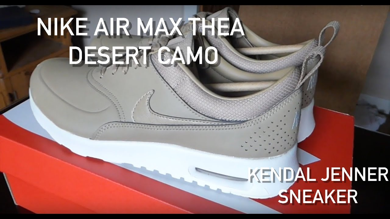 finest selection 7f6aa ac9ad Desert CamoKendall Sneaker Youtube Nike Air Max Jenner Thea Prm DHIWE29