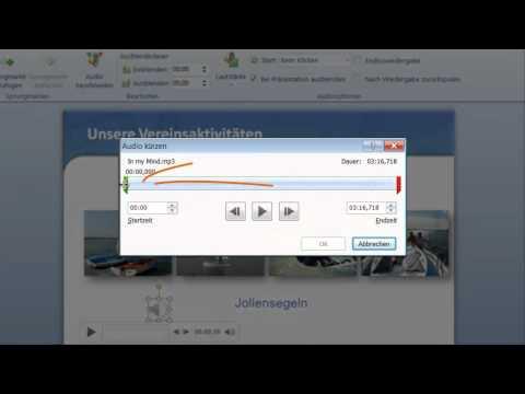PowerPoint: Hintergrundmusik in Präsentationen einfügen
