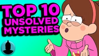 Top 10 Gravity Falls Mysteries That May Never Be Solved (Tooned Up #95) @ChannelFred