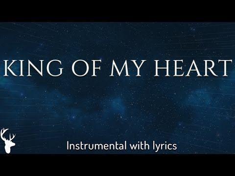KING OF MY HEART (Bethel Music) - Acoustic Instrumental [Piano Karaoke with Lyrics]