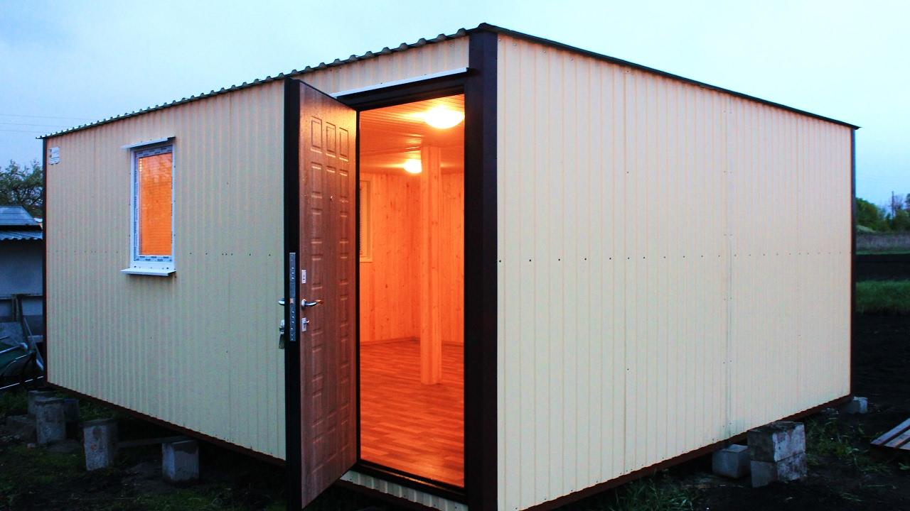 Металлические блок-контейнеры (бытовки) в санкт-петербурге и ло. Металлическая бытовка (блок-контейнер) является идеальным. Цена с ндс.