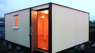 Модульное здание 6х4.8м / Дачный домик / Бытовка / от компании