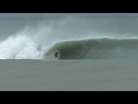 Surfing Cyclone Pam