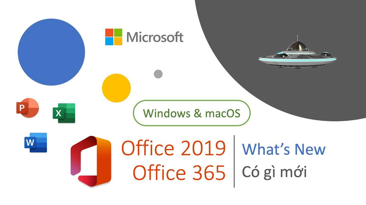 Office 2019   Office 365 Có gì mới   What's New in – Kết thúc tặng quà