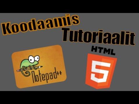 HTML Koodaus Tutoriaali