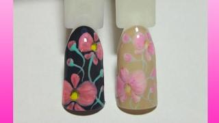 Рисунок на ногтях гель-лаками