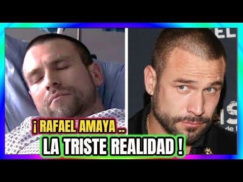 ¡ Rafael Amaya la TRISTE REALIDAD del protagonista de El Señor de los Cielos HOY !