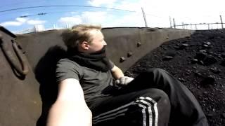 VLOG На товарном поезде Харьков-Лозовая-Славянск,в зону АТО
