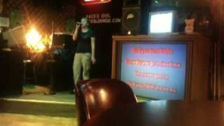 Stacy doing Karaoke of Complicated