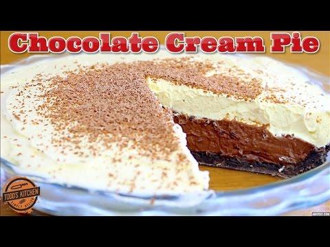 No Bake CHOCOLATE CREAM PIE - How To Make Recipe