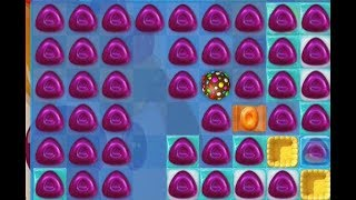 Candy Crush Jelly Saga - LEVEL 405 DIFFICULT ★★★ STARS (No boosters)
