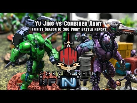 Yu Jing vs Combined Army - Infinity N3 300 point Battle Report