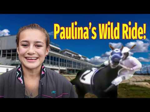 Paulina's Wild Ride At Delta Downs!