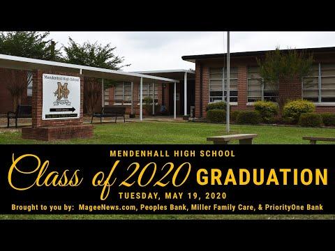 Mendenhall High School Graduation 2020