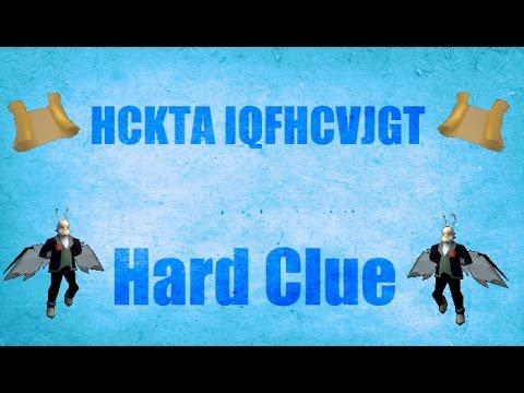 HCKTA IQFHCVJGT OSRS 2007 Ciphers Hard Clue Old school Runescape