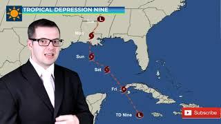 Tropical Depression Nine Update Aug 26