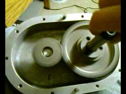 Centrifugal Supercharger Input/Output Gearset Spin Test