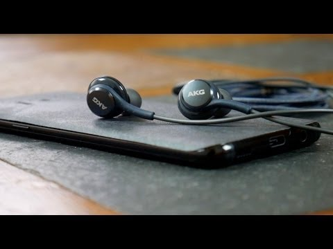 Samsung Galaxy S8 AKG Earbuds Review - Are They Any Good?
