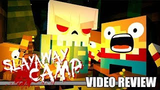 Review: Slayaway Camp - Butcher's Cut (PlayStation 4 & Xbox One) - Defunct Games