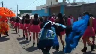 Carnaval Tenancingo Tlaxcala 2017 sección 2da.  Día Martes