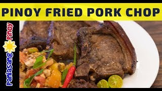 [Panlasang Pinoy] How to Cook Filipino Fried Pork Chop with Tomato and Salted Egg