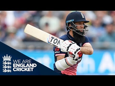 Moeen Ali's 53-Ball ODI Century - Extended Highlights
