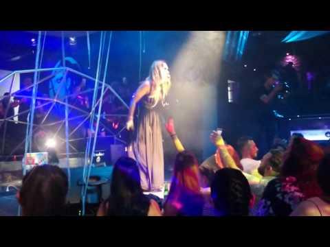 Lumidee  Dance  at Cubik Black n Beat Tenerife May 2016