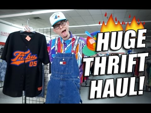 Trip to the Thrift #85 Vintage Snapbacks, Fubu, Tommy, and More!