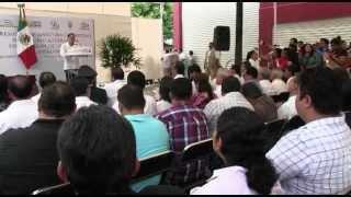 Entrega @GabinoCue instalaciones para Sistema de #JuicioOral, en #Tuxtepec
