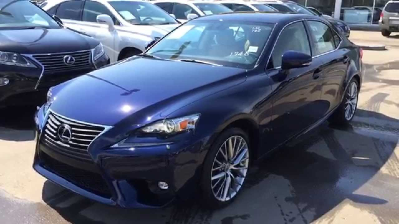 new blue on flaxen 2015 lexus is 250 awd luxury package review lexus of edmonton new youtube. Black Bedroom Furniture Sets. Home Design Ideas