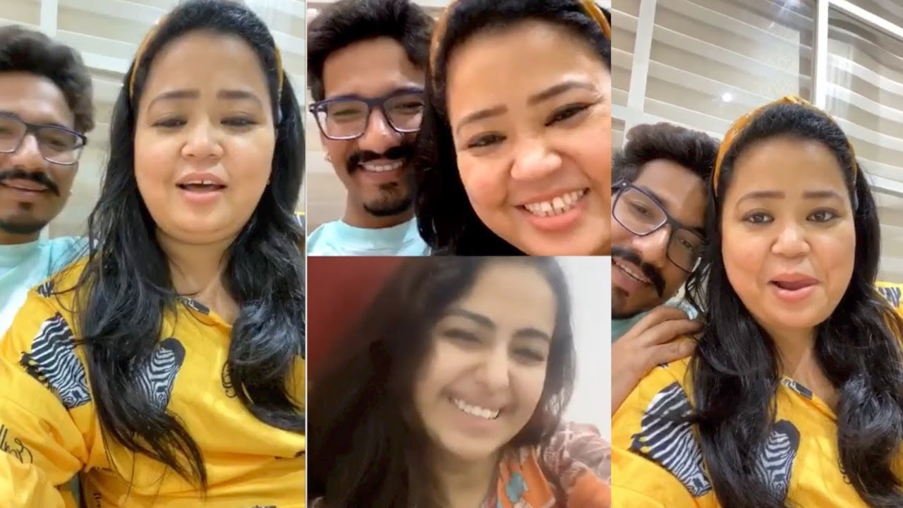 Bharti Singh & Harsh Limbachiyaa LIVE🔴 Chat With Avika Gor