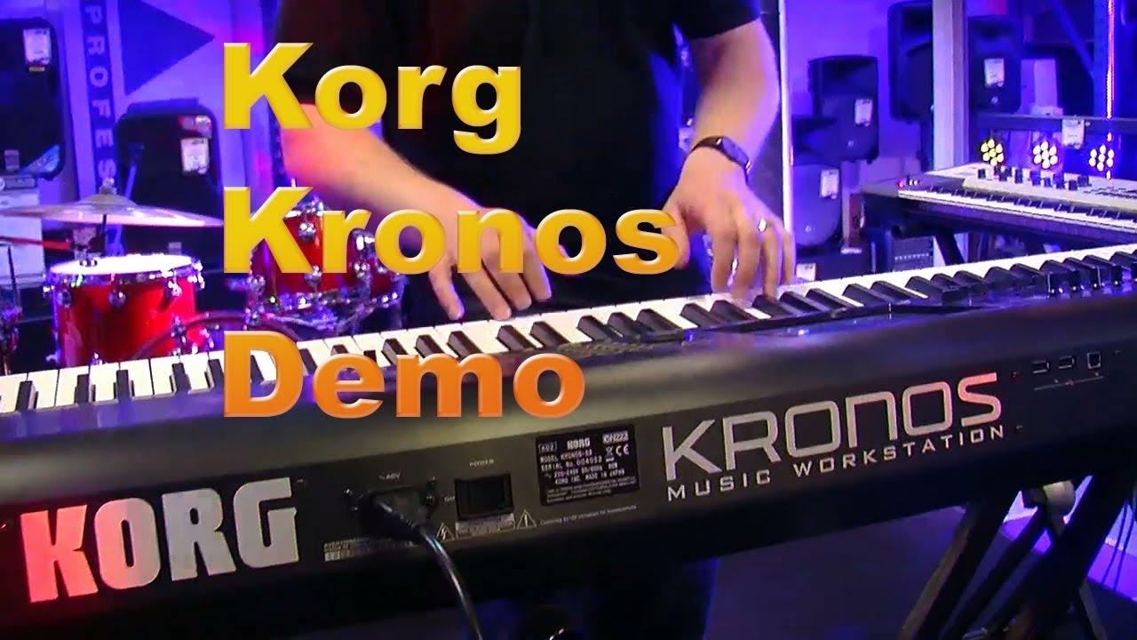 Korg Kronos 2 88-key Titanium Limited Edition Workstation with Italian Grand Demo
