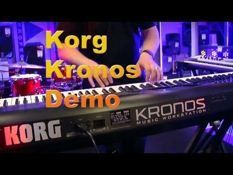 Korg Kronos Workstation Keyboard Demo Part 1