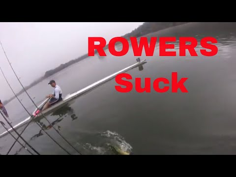 ROWERS SUCK - Kayak Fishing In Canberra