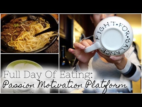 Full Day of Eating: Passion Platform