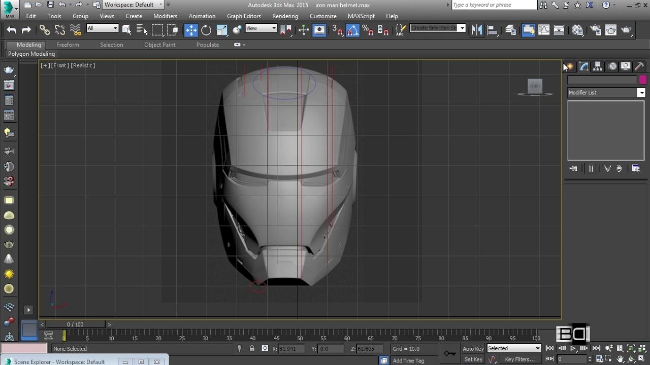 Iron man helmet alignment blueprint in photoshop modeling iron man helmet alignment blueprint in photoshop modeling tutorial part 26 malvernweather Images