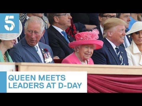 Queen greets Donald