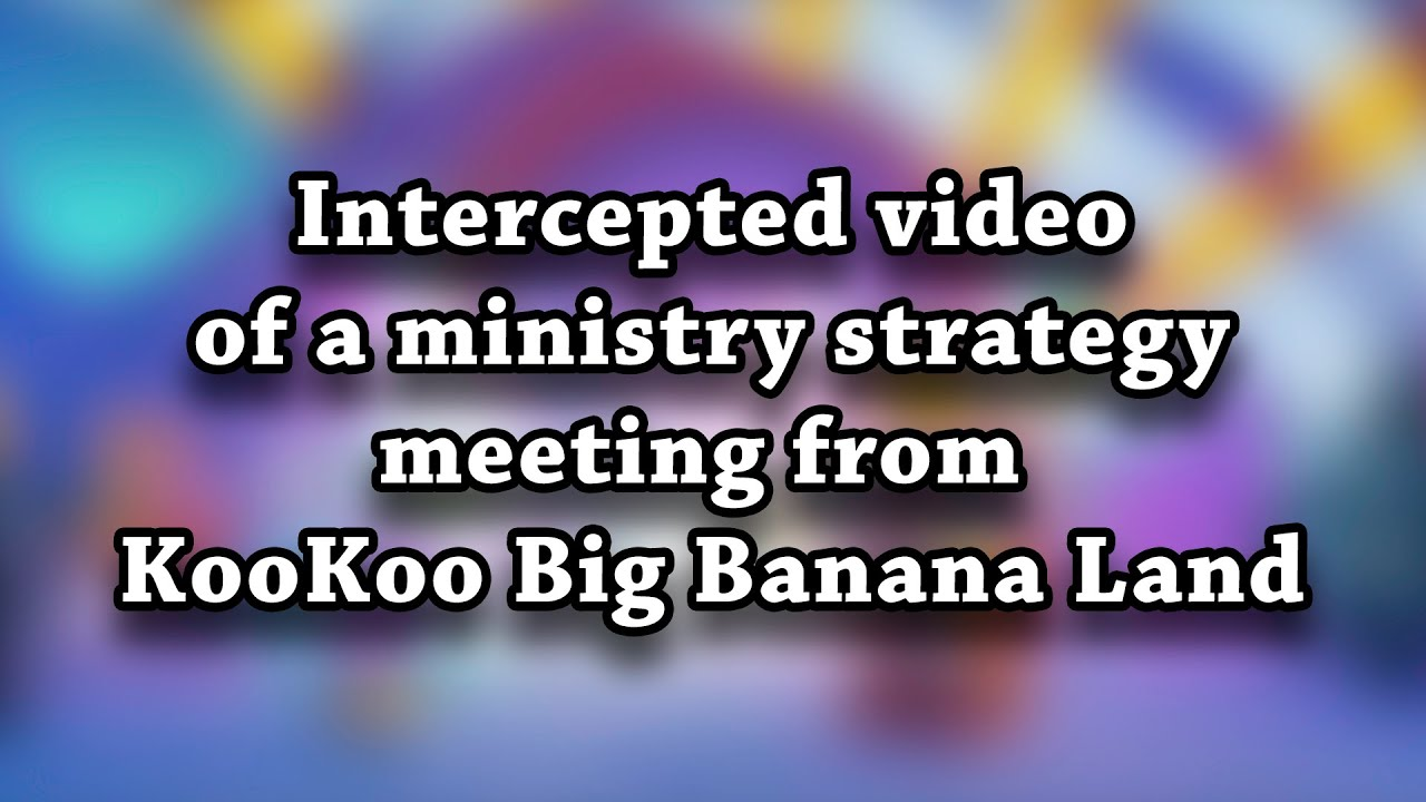 Ministry Strategy Meeting from KooKoo Big Banana Land